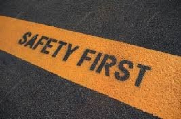 gallery/images safety first - road sign 2